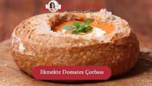 Ekmekte Domates Çorbası