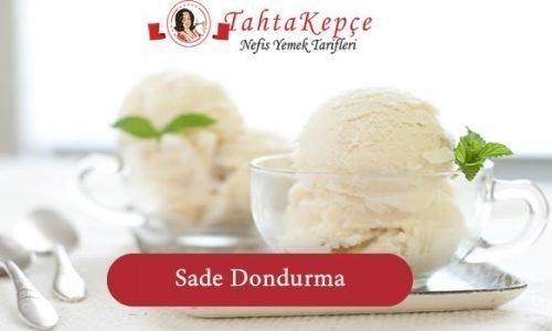 Sade Dondurma