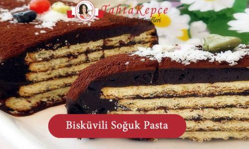 Bisküvili Soğuk Pasta