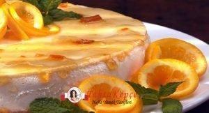 cheesecake portakal tarifi