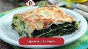 Çocuklar için Ispanaklı Lazanya