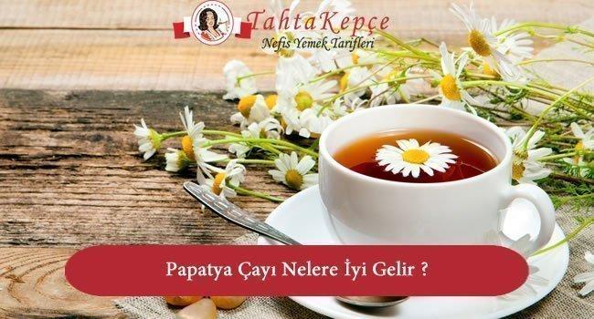 Papatya Çayı Nelere İyi Gelir ? Nasıl Yapılır ?