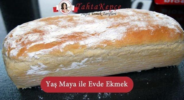 Yaş Maya İle Evde Ekmek