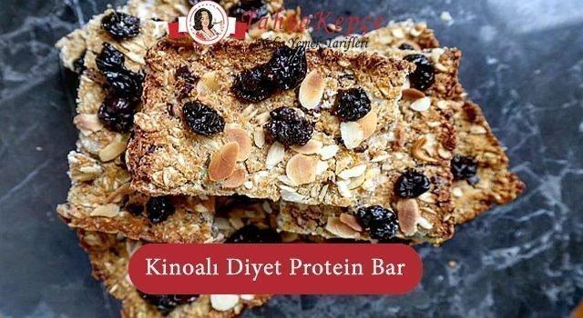 Kinoalı Diyet Protein Bar