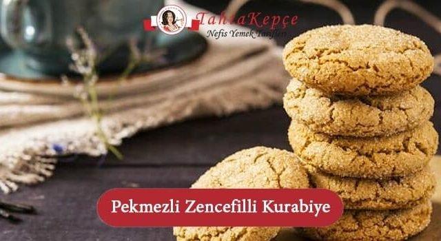 Pekmezli Zencefilli Kurabiye