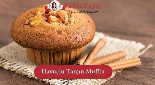 Havuçlu Tarçınlı Muffin