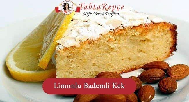 Limonlu Bademli Kek