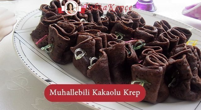 Muhallebili Kakaolu Krep