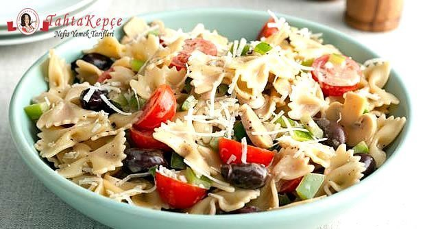 italyan makarna salatası