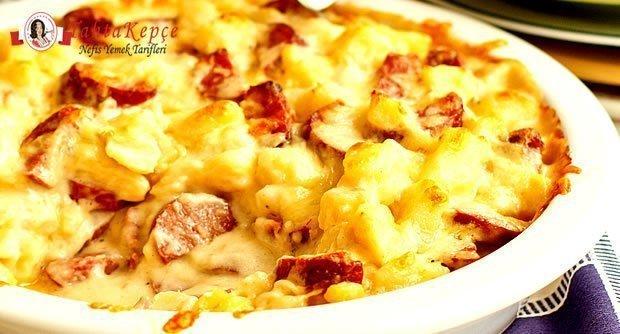 sosisli patates tarifi