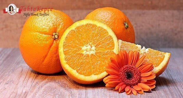 turuncu meyve