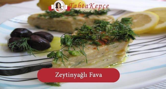 Zeytinyağlı Fava