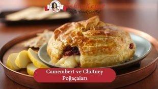 Fırında Camembert ve Chutney Poğaçaları