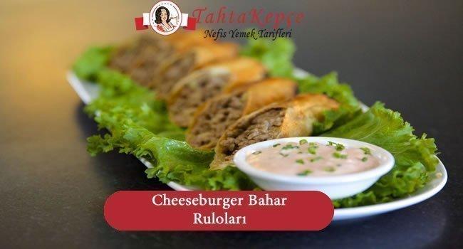 Cheeseburger Bahar Ruloları