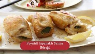 Peynirli Ispanaklı Samsa Böreği