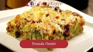 Fırında Omlet