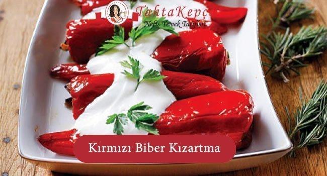 Kırmızı Biber Kızartması