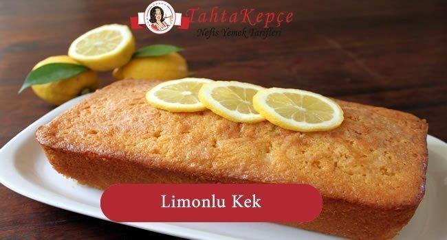 kek tarifi limonlu