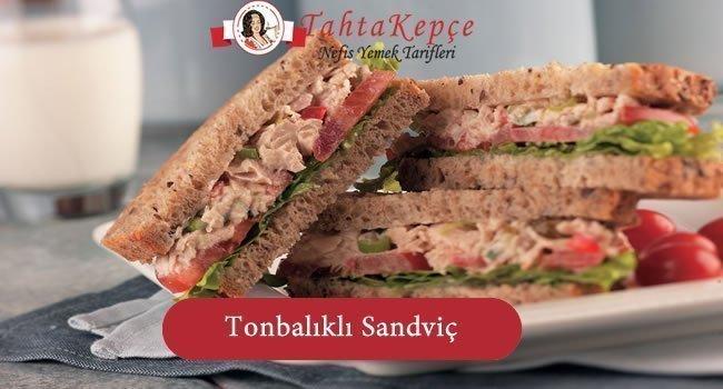 Tonbalıklı Sandviç