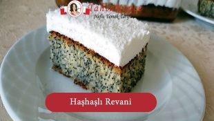 Haşhaşlı Revani Tatlısı