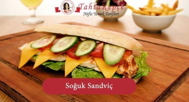 sandviç yapımı