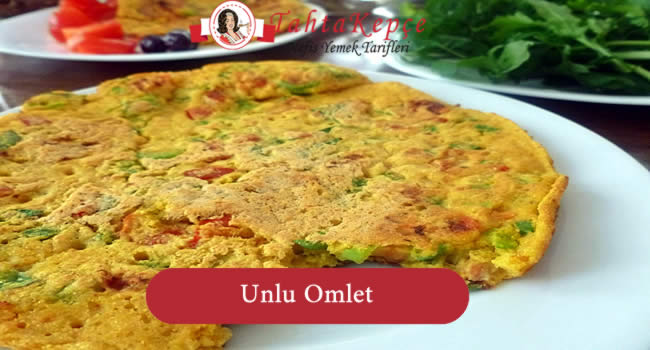 omlet unlu tarifi