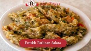 Yer Fıstıklı Patlıcan Salatası