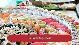 En İyi 10 Sushi Tarifi