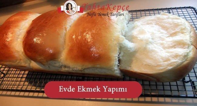 Evde Makinesiz Ekmek Yapımı