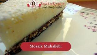Fırında Mozaik Muhallebi