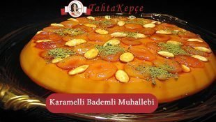 Karamelli Ve Bademli Muhallebi