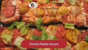 Fırında Patates Somon