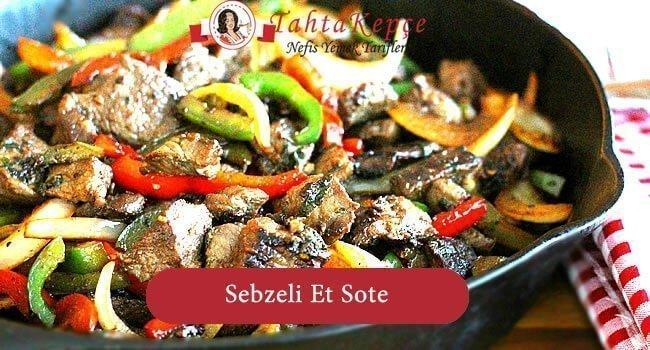 Sebzeli Et Sote