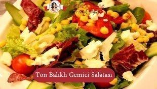 Ton Balıklı Gemici Salatası