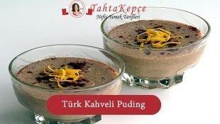 Türk Kahveli Puding