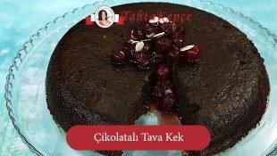 Çikolatalı Tava Kek