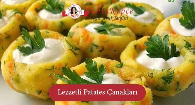 Lezzetli Patates Çanakları