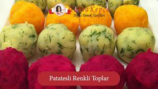 Patatesli Renkli Toplar