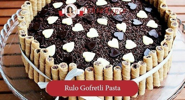 Rulo Gofretli Pasta