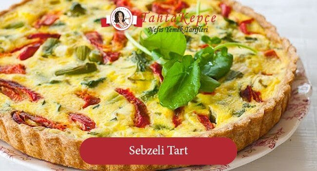 Sebzeli Tart