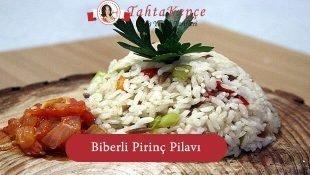 Biberli Pirinç Pilavı