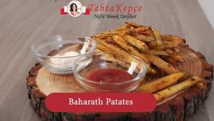 Fırında Baharatlı Patates