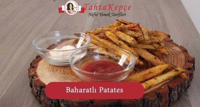 baharatli patates tarifi
