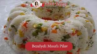 Bezelyeli Mısırlı Pirinç Pilavı