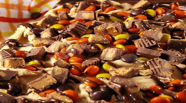 çikolatalı fıstık ezmeli kek
