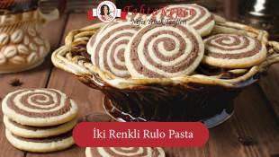 İki Renkli Rulo Pasta