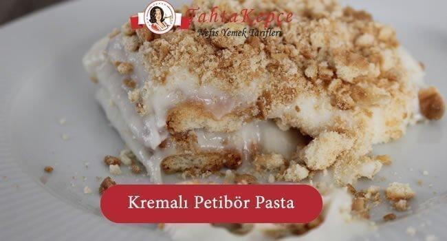 Kremalı Petibör Pasta