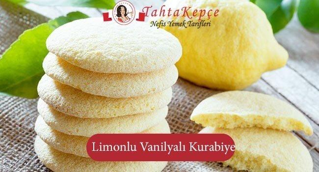 Limonlu Vanilyali Kurabiye