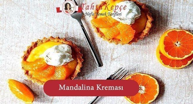 mandalina kreması tarifi