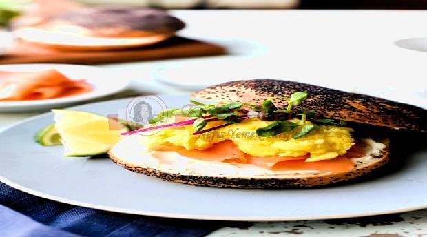 omletli simit